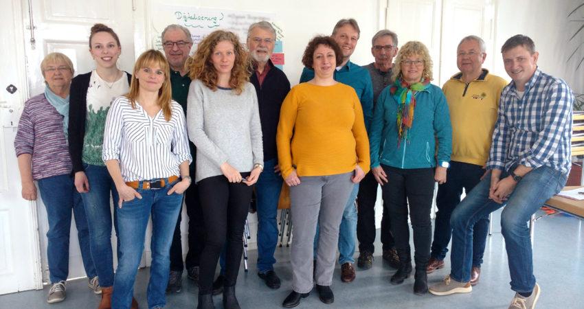Teilnehmer der Klausurtagung zum Thema Wahlprogramm für 2021