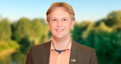 Foto Sebastian Wispel, Fraktionsvorsitzender, Grüne Riedstadt